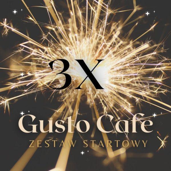 Zestaw Startowy 3x Gusto Cafe