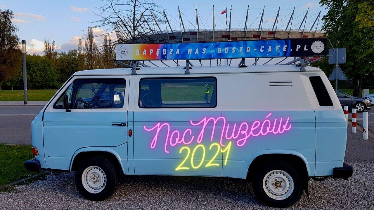 Mobilna Kawiarnia Gusto Cafe - Noc Muzeów 2021